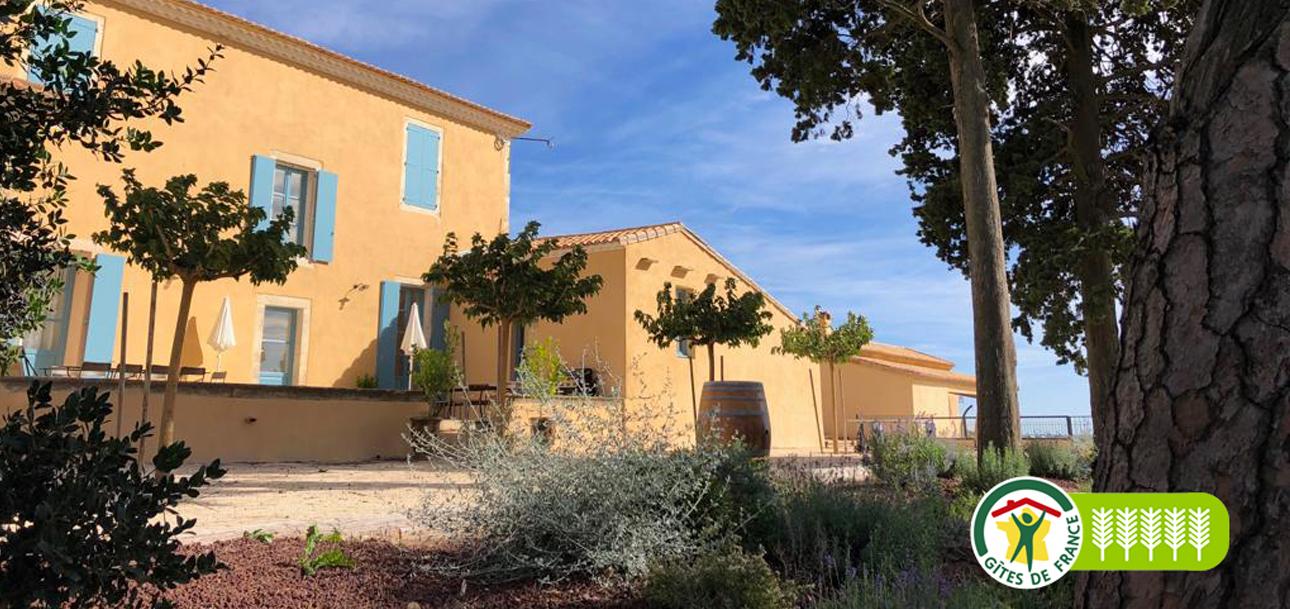 Consécration!! Notre maison de Maître du Château Bellefontaine a été classée Gite 5 épis par Gite de France, Le Premier et Unique du Gard…
